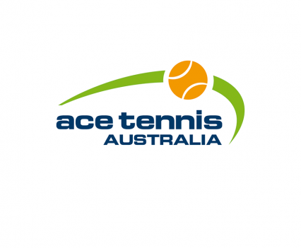 Ace Tennis Australia Logo designed by brisbane graphic designer Megan Taylor