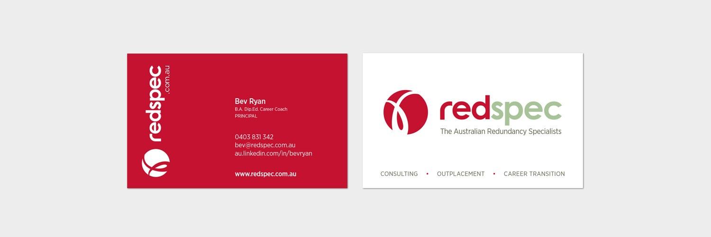Redspec business cards