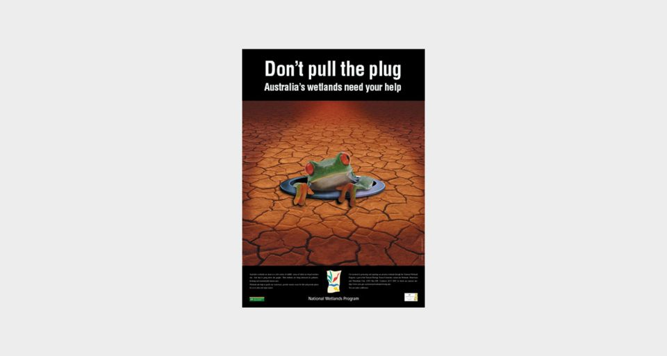 Environmental Protection Agency Wetlands Poster Design
